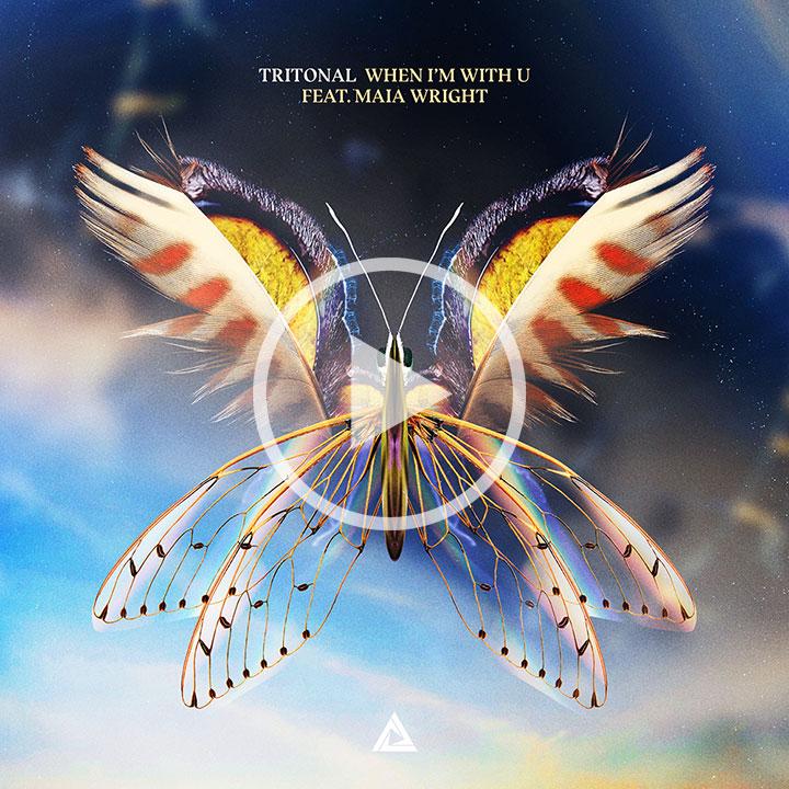 Tritonal When Im With U Album Cover